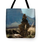 Volcanic Desert Composition Tote Bag