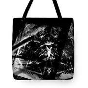 Volcanic Fury Tote Bag by Art Di