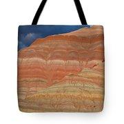 Volcanic Rainbow Tote Bag