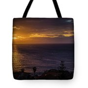 Volcanic Sunrise Tote Bag