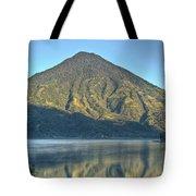 Volcano And Reflection Lake Atitlan Guatemala 3 Tote Bag