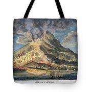 Volcano: Mt. Etna Tote Bag