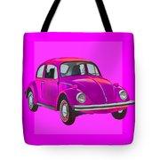 Volkswagen Beetle So Pinks Tote Bag