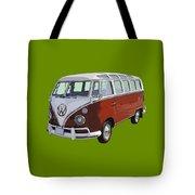 Volkswagen Bus 21 Window Bus  Tote Bag