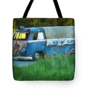 Volkswagen Bus Tote Bag