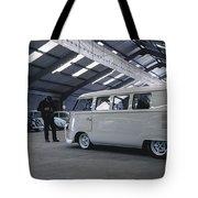 Volkswagen Microbus Tote Bag