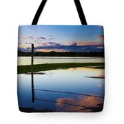 Volleyball Sunset Tote Bag