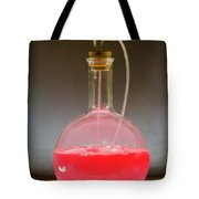 Volumetric Flask With Pink Liquid Chemical Experiment Tote Bag