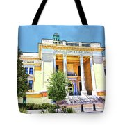 Volusia County Court House Yellow Tote Bag