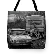 Volvo And Trailer Tote Bag