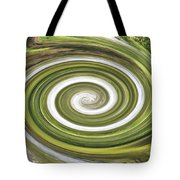 Vortex - River Frays Abstract Tote Bag