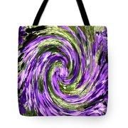 Vortex Abstract Art No. 14 Tote Bag