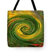 Vortex Abstract Art No. 16 Tote Bag