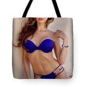 Voula Blue Bikini Tote Bag