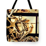 Voyage In Historical Boating Tote Bag