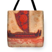 Voyaging Canoe 1 Tote Bag