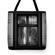 Voyeurism - Nude In Window Tote Bag