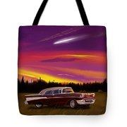 Vintage Stars Tote Bag