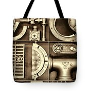Vulcan Steel Steampunk Ironworks Tote Bag