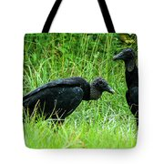 Vulture Pair Tote Bag