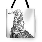 Vulture Sketch Tote Bag