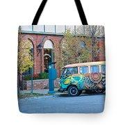 V W Bus Tote Bag