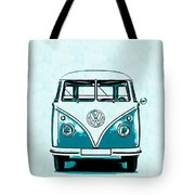 Vw Van Graphic Artwork Tote Bag