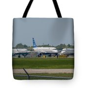 Vying For Position Tote Bag