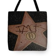 W C Fields Star Tote Bag