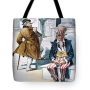 W. Mckinley Cartoon, 1896 Tote Bag
