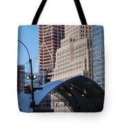 W T C Path Station Tote Bag