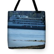 Wa State Ferry In Manchester Tote Bag