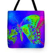 Wacky Butterfly Tote Bag