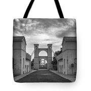 Waco Historical Suspension Bridge Tote Bag