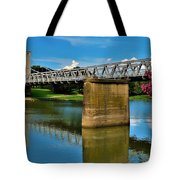 Waco Suspension Bridge 2 Tote Bag