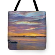 Wades Beach Sunset Tote Bag
