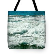 Wading For A Sign Tote Bag