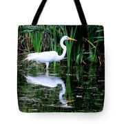 Wading For Food Tote Bag