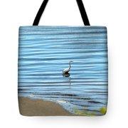 Wading Heron Tote Bag