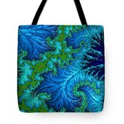 Fractal Art - Wading In The Deep Tote Bag