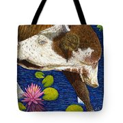Wading Repose Tote Bag