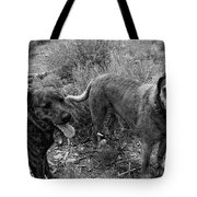 Wagging Tongues Tote Bag