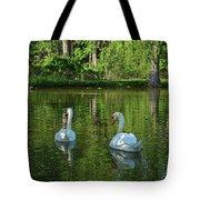 Wagner Vinyard Estate Swans Finger Lakes Lodi Ny Tote Bag