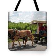 Wagon 7 Tote Bag