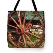Wagon And Wheel Tote Bag