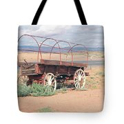 Wagon Of The West Tote Bag