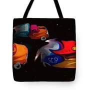 Wagon Train To The Stars 2 Tote Bag