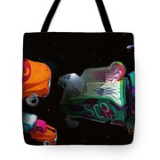 Wagon Train To The Stars 3 Tote Bag