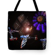 Wagon Train To The Stars Tote Bag