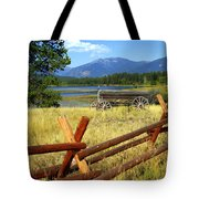 Wagon West Tote Bag by Marty Koch